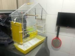 Gaiola para Calopsitas - Acompanha 2 balanços para o Pássaro