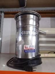 Espremedor de suco croydon industrial inox seminovo