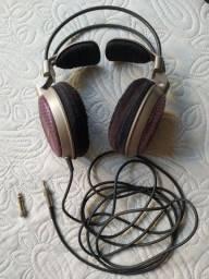 Sucata fone audio technica AD700 para peças