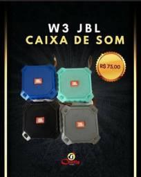 Caixa mini w3 tem Bluetooth em ofertas