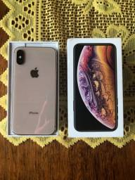 Carcaça original iPhone XS Gold