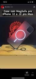 Case MagSafe iPhone 12 e 12 pro Max