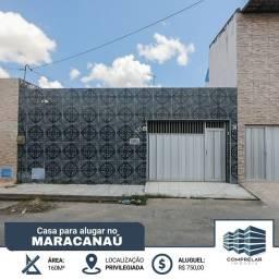 Título do anúncio: Casa com 3 dormitórios para alugar por R$ 750,00/mês - Novo Maracanaú - Maracanaú/CE
