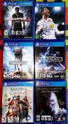 Título do anúncio: Jogos PS4 / leia a descrição