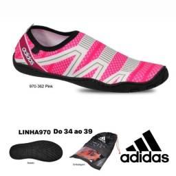 Título do anúncio: Tênis híbrido pink