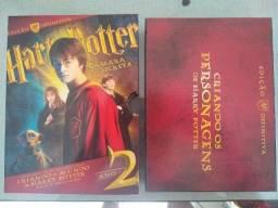Box DVD Harry Potter e a Câmara Secreta