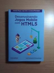 Título do anúncio: Livro Desenvolvendo Jogos Mobile com HTML5 - Luiz Fernando Estevarengo
