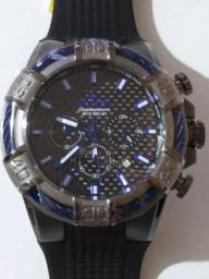 Invicta Bolt Silver Bezel Blue Markers