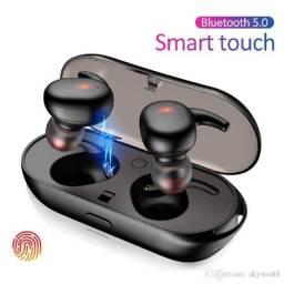 Fone de ouvido Bluetooth Y30 esportivo