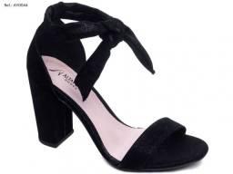 Sandália feminina Alta Villa Shoes com cordão salto de 8.5cm