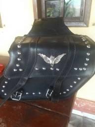 Alforge bolsa moto custom