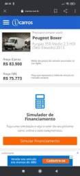 Título do anúncio: Peugeot Boxer furgão Teto alto 12/13