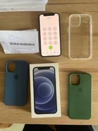 Título do anúncio: iPhone 12 mini 128GB black com garantia apple até maio de 2022 sem nenhum arranhão..