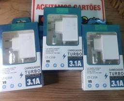 Carregador Turbo 3.1 Entrada v8 30,00