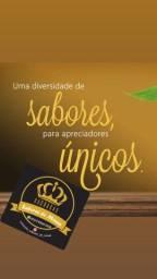Cachaça Coco com abacaxi - Sabores de Minas