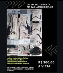 Colete motocicleta Air bag lumidex hit air