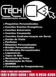Título do anúncio: Teck Click Comunicação Visual & Personalizados