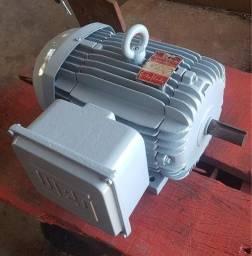 Motor 3CV Monofásico Blindado Baixa Rotação 4 Polos WEG - 220V