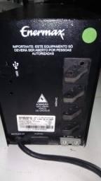 Nobreak 1400VA Enermax Bivolt Automático com possibilidade de engate