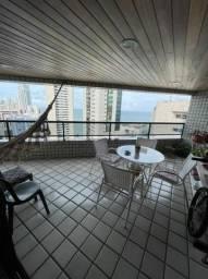 Apartamento na Rua Setúbal, Vista Mar, Lazer Completo, Varandão