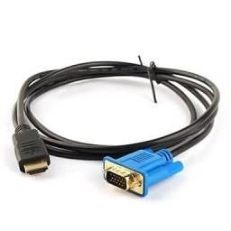 Cabo Hdmi P/ Vga Com Filtro Folheado Ouro 1.8 Metros atenção não e conversor digital