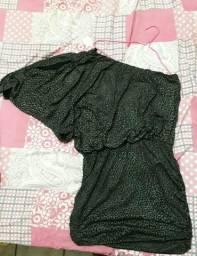 Vendo Vestido com Estampa