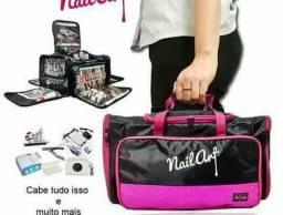Bolsa maleta para manicure a domicílio