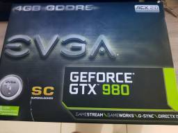 Geforce EVGA GTX 980Sc