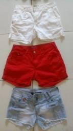 Shorts conservados!
