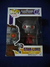 Funko Pop Star Lord Guardiões.