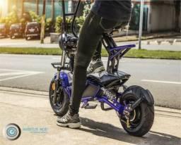 Patinete Elétrico / Scooter Fun Motors Street Azul