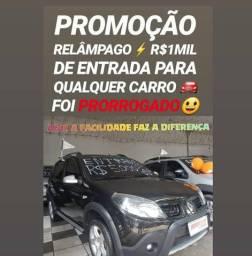 Renault/SANDERO STEPWAY 2012 COM R$1MIL DE ENTRADA NA SHOWROOM AUTOMÓVEIS