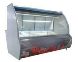 Balcão Refrigerado Açougue 1,5m Expositor de Carnes, Expositor Açougue