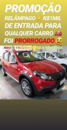 Entrada DE R$1MIL REAIS(SANDERO STEPWAY 2014)SÓ NA SHOWROOM AUTOMÓVEIS - 2014