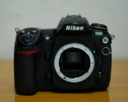 Nikon D300, Corpo + Cartões + Bateria