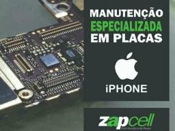 Reparo avaçado em placas de iphone