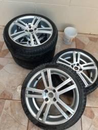 Vendo rodas aro 17 GM e Volkswagen