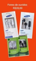 Fone de ouvido Samsung/Motorola 20,00