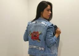 Jaqueta Jeans da grife Leds Tattoo 0824b375ab2
