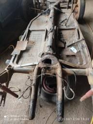 Estrutura Chassis Sucata pra Gaiola Buggy Bugue Bugre Protótipo