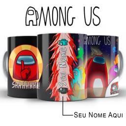 Among Us Jogo Caneca Personalizada Com Nome Para Presente Fazemos com qualquer arte