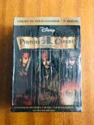 Trilogia Piratas do Caribe - edição de colecionador