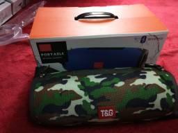 Caixa de som Bluetooth tg118