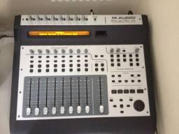 Mesa Interface Gravação Daw Project Mix I/o M-audio