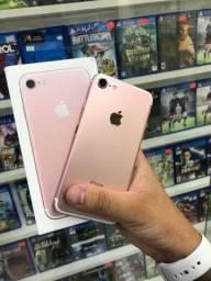 iPhone 7 256g rose sem detalhes // garantia