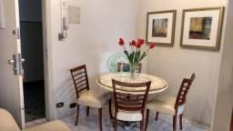 Apartamento com 1 dormitório para alugar, 32 m² por R$ 1.400,00/mês - Gonzaga - Santos/SP