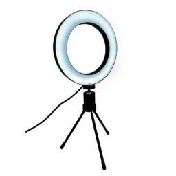 Iluminador de Led com 8 polegadas-(Lojas Wiki)