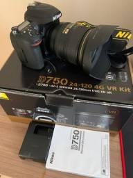 Câmera Nikon D750 24-120mm 4g VR kit
