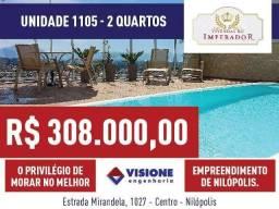 Vivendas do Imperador - Unidade 1105 - 2 quartos - Nilópolis, RJ