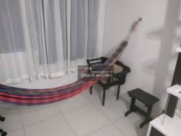 Apartamento com 2 dormitórios para alugar, 90 m² por R$ 2.700,00/mês - Gonzaga - Santos/SP